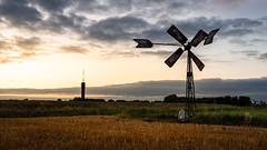 This Windmill (bramtop_1990) Tags: windmill windmolen zendmast radio haren sunset sundown sun tower dusk industrial clouds nikon d610 tamron 2470mm f28 vc g2 a032n dutch landscape zonsondergang avond landschap nederland