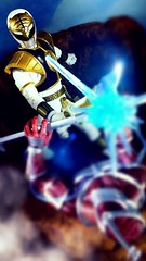 Your going down (custombase) Tags: powerrangers lightningcollection lordzedd whiteranger white tiger tommy oliver battle diorama toyphotography