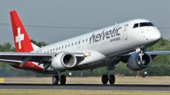 HB-JVQ (AnDyMHoLdEn) Tags: helvetic embraer egcc airport manchester manchesterairport 05r