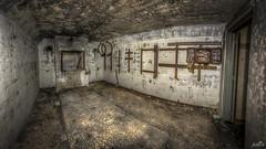 Casemate XVII Generator room (pe0s, Steven) Tags: apocalypse apocalyptic stalker war hrd bunker bunkers ww2 abandoned urbex fort fortress hidden casemate cannon kornwerderzand trench fisheye afsluitdijk 1933 kazematten