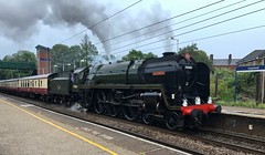 70000 Britannia, Leyland, 17-07-19 (Tin Wis Vin) Tags: saphos britannia 70000 railtour leyland steam railways locos