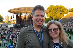 The Two Of Us At The Alt-J Concert (Joe Shlabotnik) Tags: wstc cameraphone peter 2018 june2018 sue concert foresthillsstadium galaxys9 faved