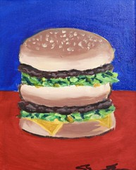 Big Mac Big Hoops Flack (therealshawnshawn) Tags: big mac boy shawnshawn 2019 trump ncass white house painting art