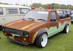 H204 VRA (Nivek.Old.Gold) Tags: 1990 volkswagen caddy pickup 1600cc diesel