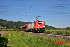 "DB 185 273-0 ""Impulsgeber"" (Phil.Kn.) Tags: bombardier traxx ac2 185 db dbcargo impulsgeber schüttgutwagen eisenbahn"