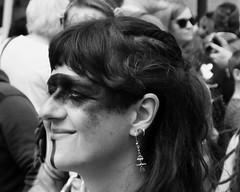 Carnival 2019 78 (byronv2) Tags: peoplewatching candid street performer newtown princesstreet princesstreetgardens carnival edinburghjazzbluesfestival edinburghjazzbluesfestival2019 festival parade blackandwhite blackwhite bw monochrome woman portrait