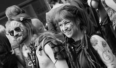 Carnival 2019 75 (byronv2) Tags: peoplewatching candid street performer newtown princesstreet princesstreetgardens carnival edinburghjazzbluesfestival edinburghjazzbluesfestival2019 festival parade blackandwhite blackwhite bw monochrome man woman portrait