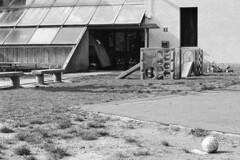 Como, Via Raschi, 2019 (sirio174 (anche su Lomography)) Tags: playground playgrounds como viaraschi parcogiochi parchigiochi parco giochi italia italy prakticasupertl1000 ilfordhp5