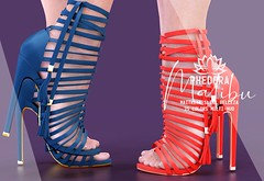 "Phedora. for FeverFete powered by Basic Boyos Events SL - ""Malibu"" heels ♥ (Celena Galli ~ phedora.) Tags: sl secondlife second life phedora 3d mesh shoes brand heels platforms shoewear womenswear pumps woman women sexy sassy stylish classy cute chic kinky kawaii fashion event monthly events original content 100mesh new release newrelease meshbody hud multihud maitreya lara belleza isis freya venus slink hourglass physique shopping shopaholic shappaholic straps ankle booties streetwear cuffs ankleboots urban funky heel strappy style strappyheels feverfete basicboyos"