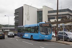 YOR_117 (Stuart's Transport) Tags: keighley transdev westyorkshire bus uk volvob7rle wrighteclipseurban2 wrightbus singledeck jrz1805 1805
