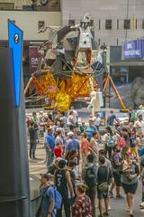 Lunar Module on the Mall (Tim Brown's Pictures) Tags: washingtondc nationalmall smithsonianmuseum nationalairandspacemuseum spaceexploration apollo11moonlanding 50thanniversaryapollo11moonlanding lunarmodule lm lm2 washington dc unitedstates