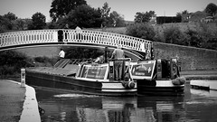 Off on a mision (Duck 1966) Tags: canal narrowboat braunston marina water crew