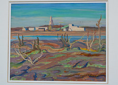 Painting #2 by A.Y. Jackson (J.R. Rondeau) Tags: rondeau yellowknife nt nwtlegislativeassembly painting ayjackson groupofseven canoneos tamron2875 photoshopelements10