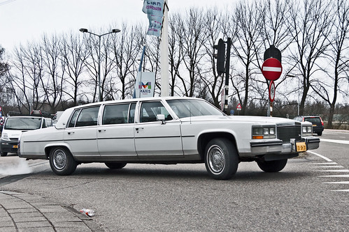 Cadillac Fleetwood Brougham Limousine 1985 (2534)