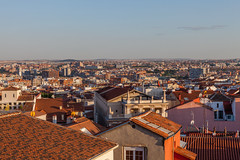 Roof top Madrid (fredrik.gattan) Tags: cityscape landscape roof top rooftop view buildings city sky horizon evening sunset madrid spain