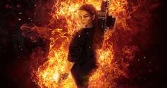 destruction (SilentRaindrop) Tags: fire burn apocolypse secondlife destruction virtualworld