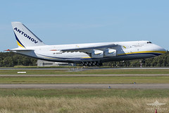 UR-82009 AN124 ANTONOV AIRLINES (QFA744) Tags: ur82009 an124 antonov airlines