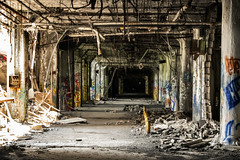 Remnant (PAJ880) Tags: fisher body plant 21 general motors detroit michigan abandoned tagged ransacked