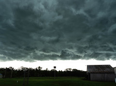Low Storm Front (DDM Imaging) Tags: clouds wx weather storm storms cloud wind front temperature camera sony a7mii a7m2 sky country countryside barn farm