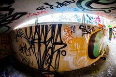 Flying By (Thomas Hawk) Tags: america california cossonhall sf sagehall sanfrancisco starburst ti treasureisland usa unitedstates unitedstatesofamerica abandoned barracks decay graffiti fav10