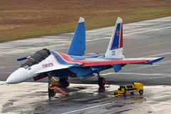 Russian Federation Air Force (Russian Knights 30) Sukhoi Su-30SM RF-81701 (EK056) Tags: russian federation air force knights 30 sukhoi su30sm rf81701 lima 19 langkawi international airport