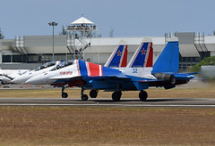 Russian Federation Air Force (Russian Knights 32) Sukhoi Su-30SM RF-81703 (EK056) Tags: russian federation air force knights 32 sukhoi su30sm rf81703 lima 19 langkawi international airport