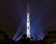 Apollo 11 Projected on the Washington Monument (jtgfoto) Tags: washingtondc sonyalpha sonyimages washington apollo11 rocket washingtonmonument spacecraft airspacemuseum nationalmall monument cityscape nightscape lights projection