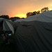 Sunrise Over Our Tents