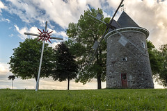 Heritage (Kevin Tataryn) Tags: nikon d500 1755 windmill pointe claire west island montreal history old stjoachim village sky clouds canada