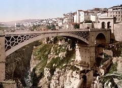 The Great Bridge in Constantine, Algeria ( c1899 )