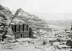 Petra Hills opposite Ed Deir, Petra, Trans-Jordan ( 1940-1946 )