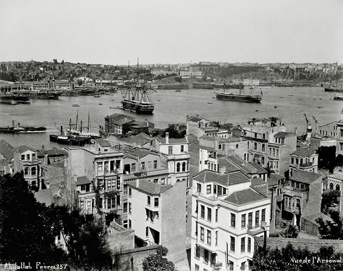 Naval Arsenal and the Golden Horn, Istanbul, Turkey