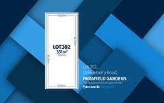 Lot 302, 13 Blueberry Road, Parafield Gardens SA