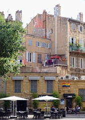 - (txmx 2) Tags: marseille architecture building facade street people cafe