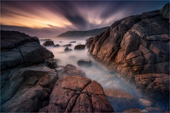 Perception of Time (Maciek Gornisiewicz) Tags: torndirrupnationalpark albany western australia south coast shore ocean sea clouds rocks granite evening dusk twilight sunset landscape seascape travel outdoors ethereal moody longexposure canon nisi 1635mm 5div maciek gornisiewicz darkelf photography perceptionoftime 2019