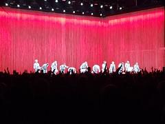 David Byrne And Group Take Their Final Bows At Forest Hills Stadium (Joe Shlabotnik) Tags: davidbyrne september2018 2018 cameraphone galaxys9 foresthillsstadium concert
