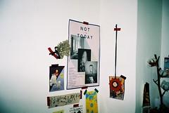(ourutopia.) Tags: film kodak kodakfilm kodak200 olympus olympusltzoom filmphotography analog analogphotography wall room poster nottoday フィルム