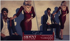 Ardent Poses - Got You AD (Ardent Poses) Tags: secondlife second life sl 2nd 2ndlife avi virtual vr 3d inworld poses pose ardent photography people exclusive avatars event love couple couples release new hold broderick logan ena roane enaroane bento advertisement sales ardentposes prop tie
