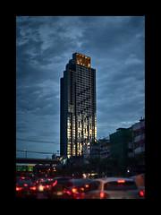 Newer Bangkok (Antoine - Bkk) Tags: architecture bangkok twilight thailand urban city sunset