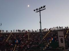 Moon Over Forest Hills Stadium (Joe Shlabotnik) Tags: september2018 galaxys9 2018 cameraphone foresthillsstadium concert moon