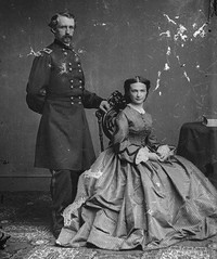 Custer and His Wife Elizabeth (DREADNOUGHT2003) Tags: indianwars civilwar littlebighorn massacre greasygrass