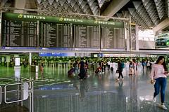 FRA International Departures (Packing-Light) Tags: 35mm azerbaijan baku caucasus eurasia nikonf6 analog emulsion film kodak proimage100 city people street