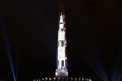 Saturn V Moon Rocket Projection on Washington Monument 06 (Amaury Laporte) Tags: 2019 manonthemoon projection launch saturnv rocket washingtonmonument memorial nasa dc districtofcolumbia misc northamerica offbeat usa unitedstates washingtondc