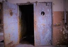 Hidden (Bo Ragnarsson) Tags: gasmask gasmaskselfie fallout stalker industrial elevator lift hiss urbanexploration urbanexploring urbex biohazard radioactive wasteland decay hidden