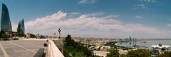 Baku Panorama - Kodak Pro Image 100 (Packing-Light) Tags: 35mm azerbaijan baku caucasus eurasia nikonf6 analog emulsion film kodak proimage100 city people street