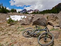 tb1180693bikeNearTop (thom52) Tags: thom hiking mountain biking broken top todd lake central oregon bend