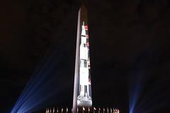 Saturn V Moon Rocket Projection on Washington Monument 08 (Amaury Laporte) Tags: 2019 manonthemoon projection launch saturnv rocket washingtonmonument memorial nasa dc districtofcolumbia misc northamerica offbeat usa unitedstates washingtondc