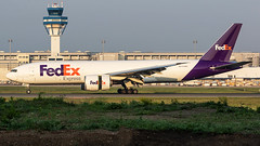 N877FD Federal Express (FedEx) Boeing 777-FS2 (°TKPhotography°) Tags: boeing 777 freighter fedex cologne landing airplane photography canon 7d 7dmk2 germany ge90