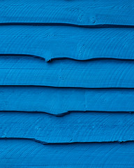 It's a blue wall (Brian.Schick) Tags: wood blue abstract lines wall tofino blueazul