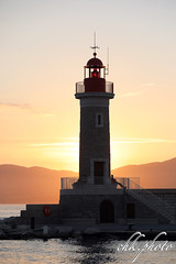 Lighthouse of Saint Tropez in sunset (chk.photo) Tags: ocean landschaft outdoor landscape water light leuchtturm lighthouse frankreich france coted'azur flickrtravellaward flickr meer